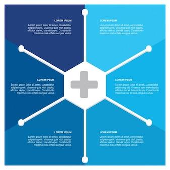 Nowy wektor infografika