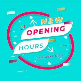 Nowy znak godzin otwarcia