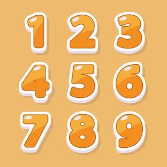 Numery do projektowania graficznego