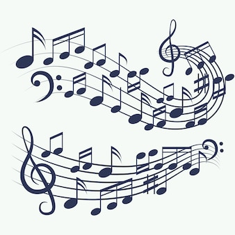 Nuty do muzyki w tle
