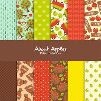 O kolekcjach wzorów jabłek