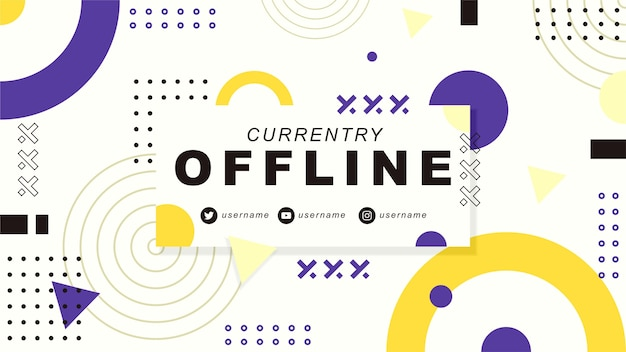 Obecnie baner drgań offline