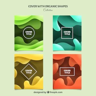 Obejmuje kolekcję o organicznych kształtach