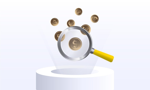 Obieg pieniędzy koncepcja projektu bankowości internetowej dla banera i strony internetowej szablon strony docelowej