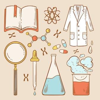 Obiekty laboratorium naukowego
