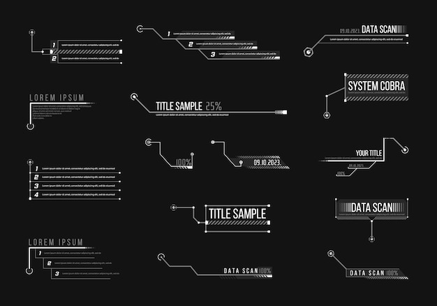 Objaśnienie, nagłówki infografiki, reklama.