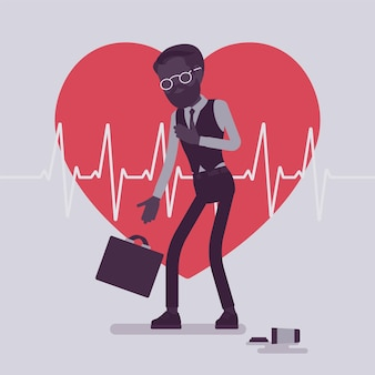 Objawy zawału serca u mężczyzn