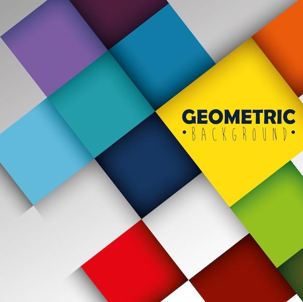 Oblicza geometrię i kolory tła