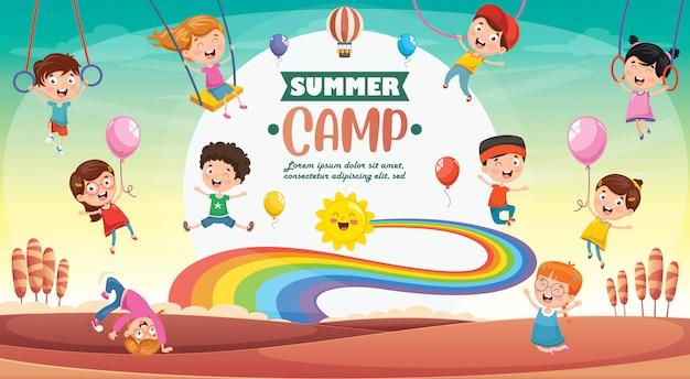 Obóz letni dla dzieci