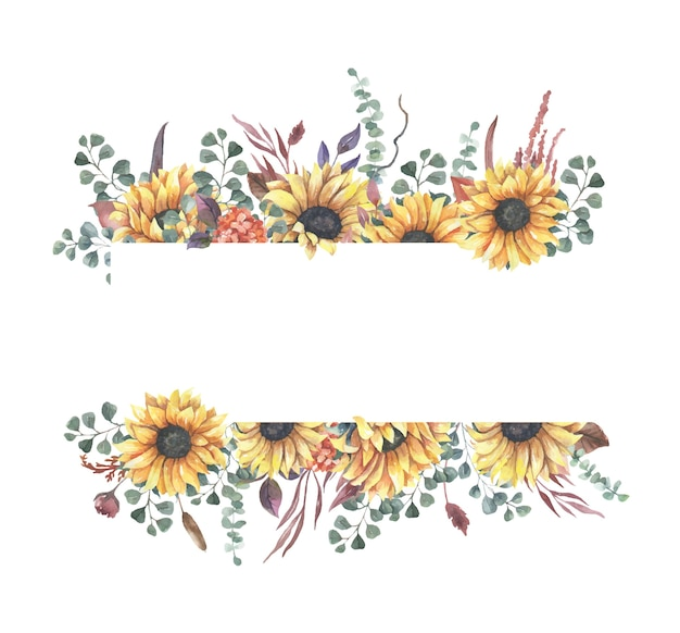 Obramowanie ramki kwiatowy