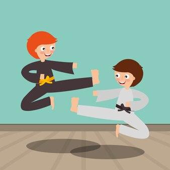 Obraz aktywności sportowej dzieci