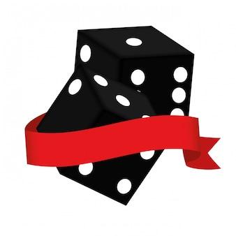 Obraz clipart związany z kasynem