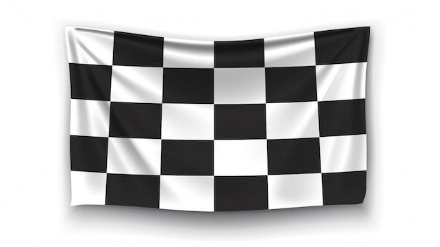 Obraz flagi wyścigu