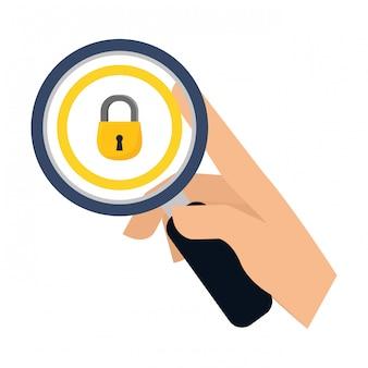 Obraz ikony bezpieczeństwa lub prywatności