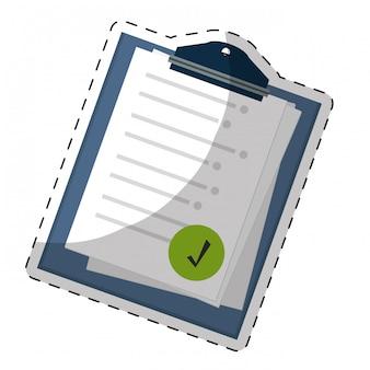 Obraz ikony listy kontrolnej