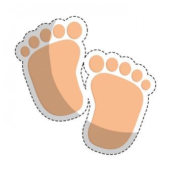 Obraz ikony związane z baby shower