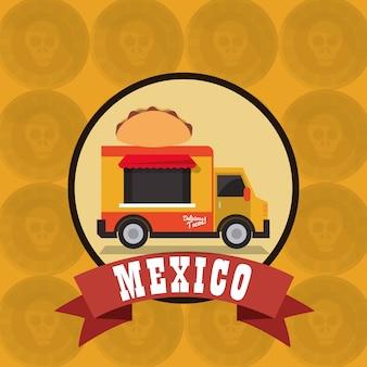 Obraz ikony związane z kultury meksykańskiej