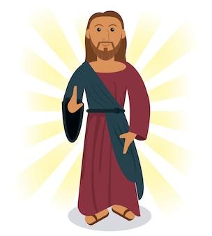 Obraz jezusa chrystusa modlitwy