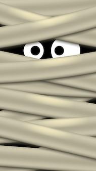 Obraz oczu duchów
