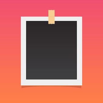 Obraz polaroid