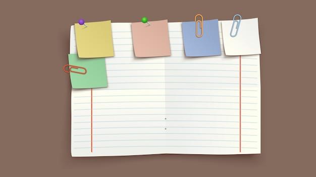Obraz rozdartego papieru
