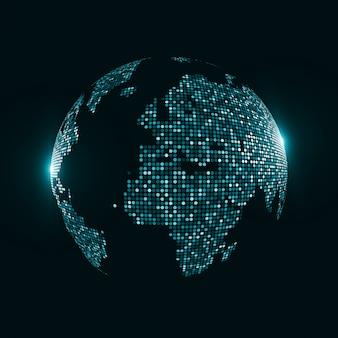 Obraz technologii globu