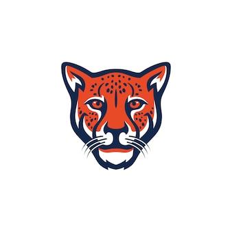 Obrazy logo geparda