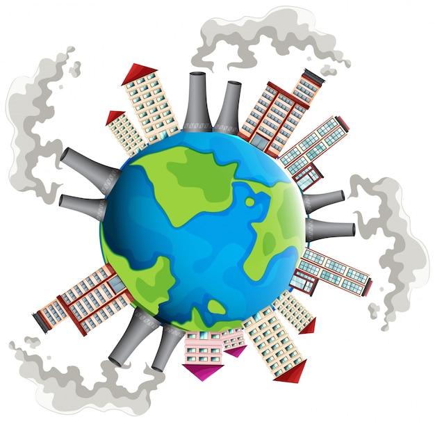 Obszar przemysłowy na całym świecie