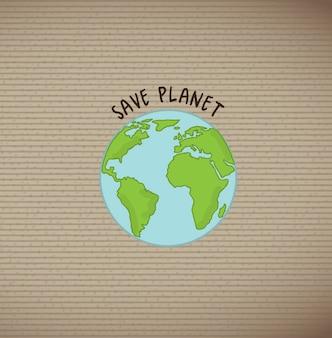Ocal planetę