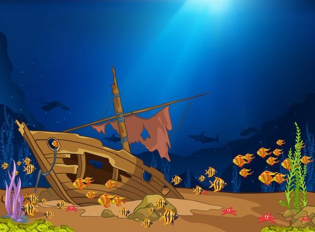 Ocean podwodny świat