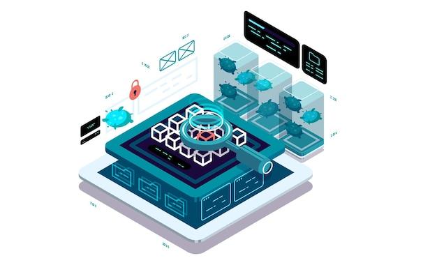 Ochrona danych, system antywirusowy, ochrona przed złośliwymi programami i aplikacjami.