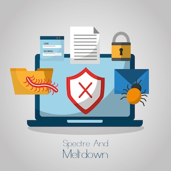 Ochrona przed atakami cybernetycznymi w trybie spectre i stopie