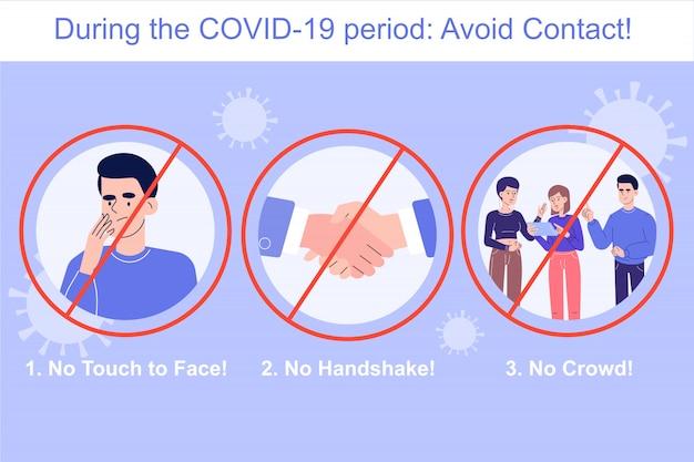 Ochrona przed koronawirusem pozwala uniknąć infografik kontaktowych