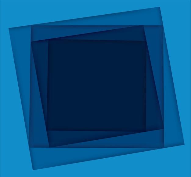 Odcienie niebieskiego tła kwadratu