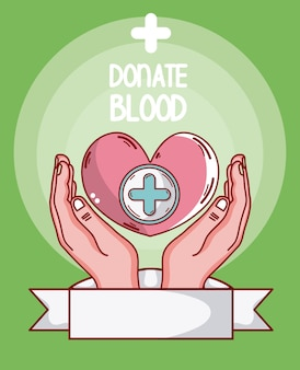 Oddaj krew w sercu opiekuńczego serca