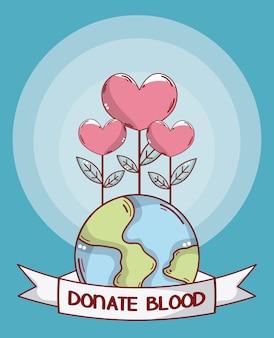 Oddaj krew ziemi i kwiaty