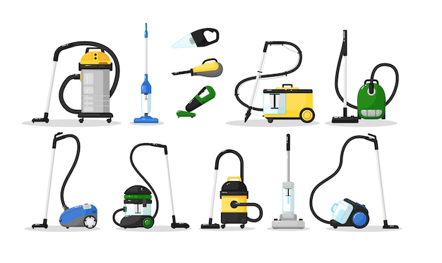 Odkurzacz elektryczny różnego typu