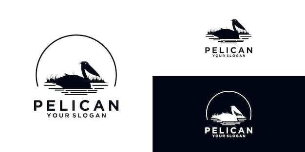 Odniesienie do logo pelican dla biznesu