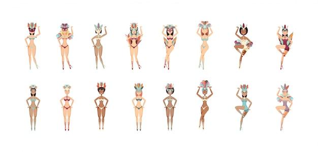 Odosobnione garotas kobiety z brazylia