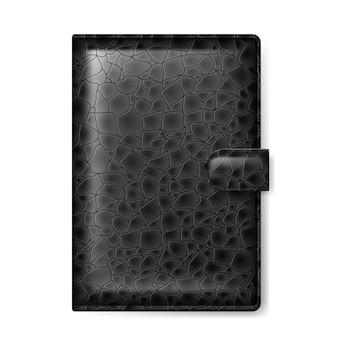 Odosobniony skórzany portfel