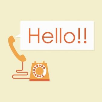 Odpowiadając na telefon