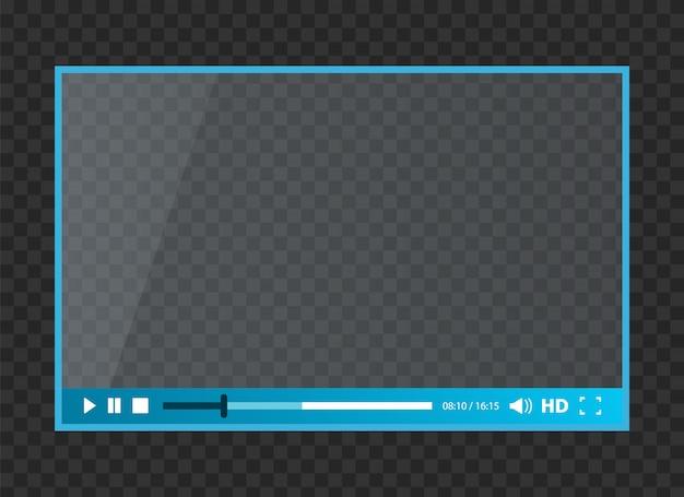 Odtwarzacz internetowy dla wideo