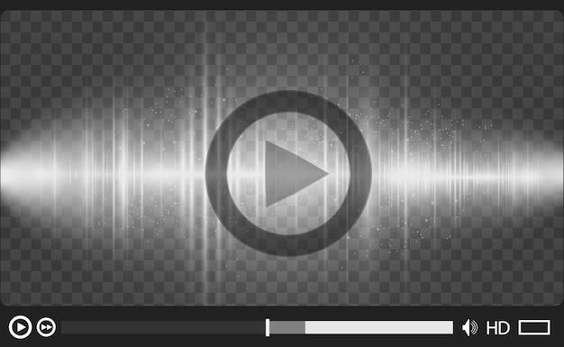 Odtwarzacz multimedialny wideo.