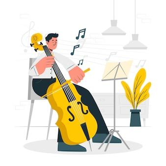 Odtwarzanie ilustracji koncepcji muzycznej