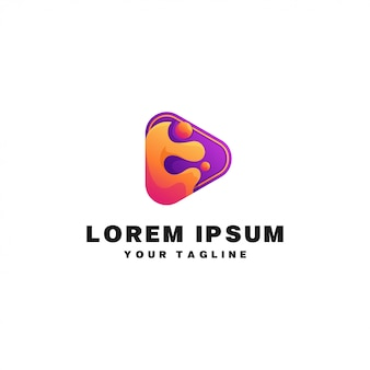 Odtwórz logo mediów