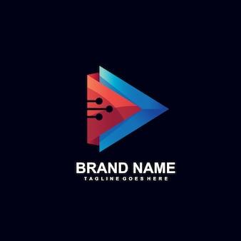 Odtwórz logo technologii