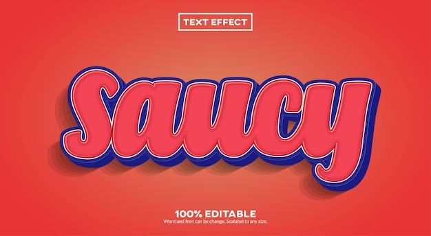 Odważny efekt tekstowy