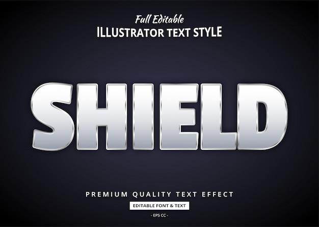 Odważny elegancki efekt tekstowy