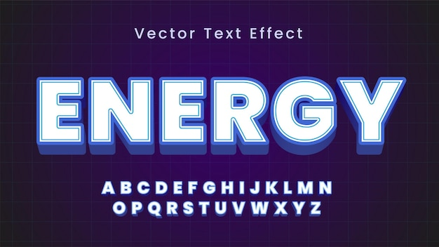 Odważny i elegancki efekt tekstowy