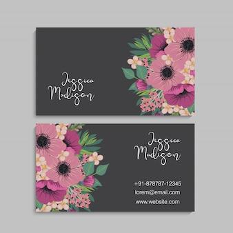 Odwiedź kartę z kwiatami